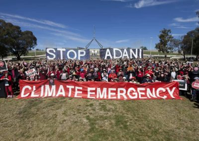 Stop Adani - Canberra Protest
